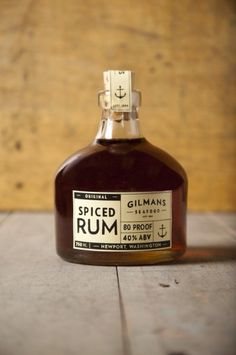 Rum packaging - Gilman's