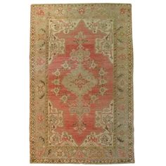 Vintage Turkish Kula   From a unique collection of antique and modern turkish rugs at http://www.1stdibs.com/furniture/rugs-carpets/turkish-rugs/