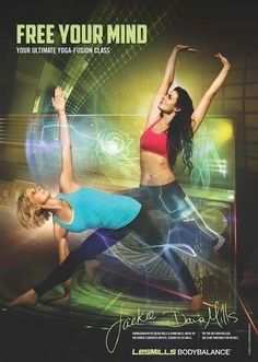 New posters for Les Mills Body Combat and Body Balance - but I have an issue.