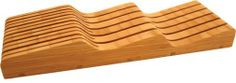 Totally Bamboo 20-2091 In-Drawer Bamboo Knife Block by Totally Bamboo, http://www.amazon.com/dp/B002RL9CZ4/ref=cm_sw_r_pi_dp_-3x6qb0P9WWM2