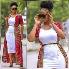 30 Best Kitenge Designs for Long Dresses 2019 Kitenge Styles African Print Skirt, African Print Dresses, African Fashion Dresses, African Dress, Fashion Outfits, African Outfits, Fashion 2018, Fashion Women, Fashion Ideas
