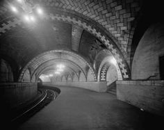Glimpse what the subway was once like with a detour through a defunct underground station.