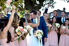Lindsay and Brooks wedding at the Gainey Vineyard in Santa Ynez, CA