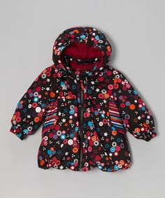 Take a look at this Black Star Ritza Puffer Coat - Toddler & Girls on zulily today!