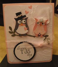 Owl punch from Stampin' Up