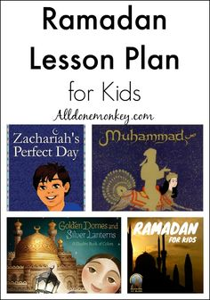 Ramadan Lesson Plan for Kids – All Done Monkey Teach young children about the Muslim month of fasting with this Ramadan lesson plan, geared towards elementary school children with no prior knowledge. Ramadan Activities, Ramadan Crafts, Activities For Kids, Ramadan Decorations, School Children, Young Children, Islam For Kids, Ramadan For Kids, Learn Arabic Online