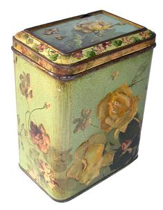Carr Co. 1893 Biscuit Tin