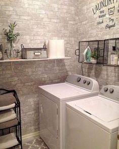 40 Best Modern Farmhouse Laundry Room Decor Ideas