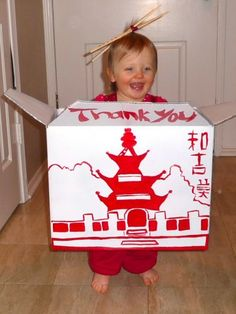 To-Go Chinese Food Box