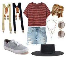 """Untitled #18"" by madisonbelle891011 on Polyvore featuring MANGO, rag & bone/JEAN, Christian Dior, Betsey Johnson, Vans and Brixton"