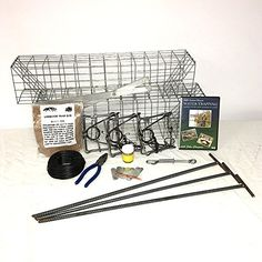 PcsOutdoors Basic Muskrat Trapping Starter Kit (13 Pieces)   http://huntinggearsuperstore.com/product/pcsoutdoors-basic-muskrat-trapping-starter-kit-13-pieces/