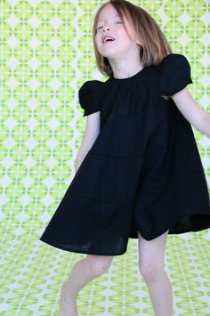 love the shape of this shift dress