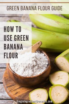 Green Plantain Recipes, Plantain Pancakes, Green Banana Flour, Sweet Potato Flour, How To Cook Greens, Indian Veg Recipes, Food Substitutions, Plant Paradox, Aip Diet