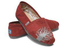 amazing shoes by TOMS - buy a pair, and a pair is donated to a child in need!