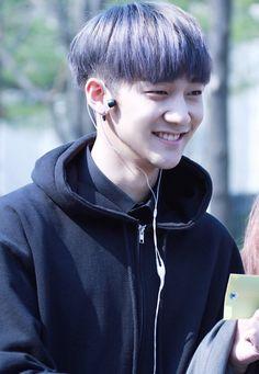 His smile, his hair, his cute eyesmile, his beautiful ears, his teeth, that oversized sweater UGH he kills me everyday