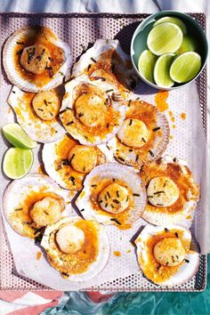 Easy-prep eats – grills, cheery tacos and peaches-and-cream doughnuts – that soak up every ray of sunshine. Barbecue Recipes, Avocado Egg, Grills, Recipe Collection, Doughnuts, Peaches, Summer Recipes, Recipe Ideas, Sausage