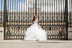 Editorial Madrid - Vestido Carol Hungria Blue