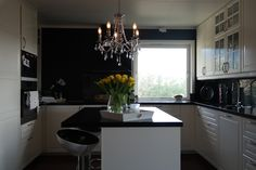 #kitchen #kjøkken #ikea #kjøkkenøy #blackandwhite #hus #hjem