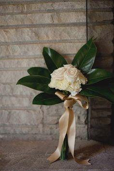 Art Deco Wedding Ideas - large scale greenery