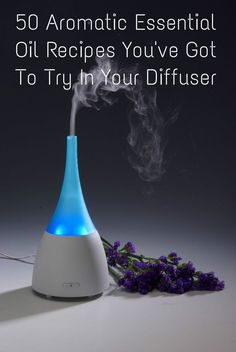 Here is a collection of 50 fantastic essential oil recipes for your diffuser, gathered from around the web!