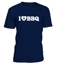 [T Shirt]22-i love bbq