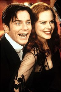 ewan mcgregor and nicole kidman. the moulin rouge!
