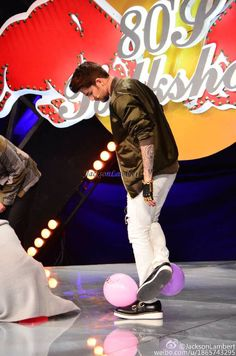 11/11/15 Adam Lambert on 80s Talk Show - Shanghai, China