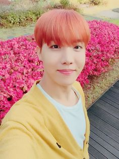 jung hoseok bts j-hope cute selca