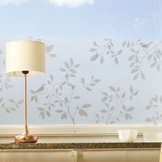 Birds Bronze. Adhesive-free and phthalate-free window film by Johanna Lindgren Oern.  © Siluett Frost