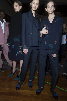 Backstage at the Paul Smith Women's Autumn/Winter '16 Show