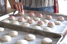 How to Make French Macarons {Strawberry Cheesecake Macarons Recipe} - Perfect for Valentine's Day!
