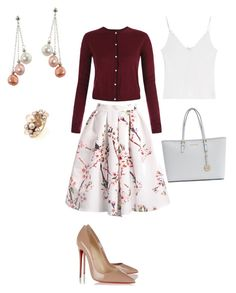 Untitled #69 by shanho72 on Polyvore featuring Vilshenko, Christian Louboutin, Michael Kors, Mimà , Honora, women's clothing, women's fashion, women, female and woman