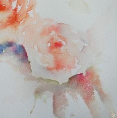 Watercolours With Life: How to Paint Roses in a Loose Style.