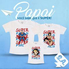 Super família?! Que tal esse kit super maneiro?!! ❤️ ❤️ ❤️
