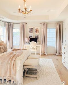 Room Ideas Bedroom, Home Decor Bedroom, Bedroom Designs, Dream Rooms, Dream Bedroom, Master Bedroom Makeover, Beds Master Bedroom, Bedroom Vintage, Vintage Bedroom Styles
