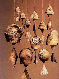 Clochettes céramique