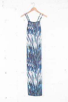 Watercolor Maxi Dress   Parc Boutique
