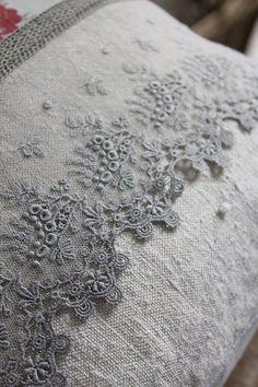 France antique linen