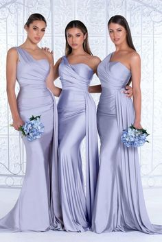 Mermaid Bridesmaid Dresses, Elegant Bridesmaid Dresses, Bridesmaid Dresses Online, Prom Dresses, Wedding Dresses, Nigerian Wedding Dress, One Shoulder Bridesmaid Dresses, Bridesmaid Outfit, Blue Dresses