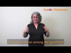 Learn to sing in Auslan with the Can:Do Classroom. National Anthem, Try It Free, Sign Language, Live Tv, Choir, Singing, Give It To Me, Classroom, Songs