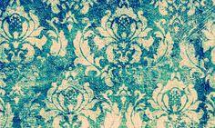 Výsledek obrázku pro golden turquoise brocade wallpaper