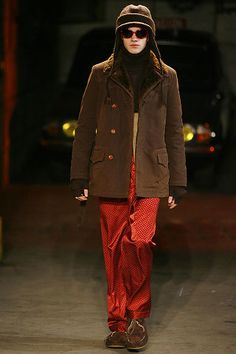 Number (N)ine Fall 2008 Menswear Collection Slideshow on Style.com