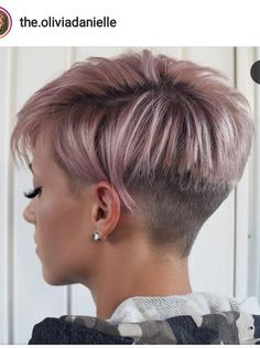 576 Best Pixie Back View Images In 2019 Pixie Cuts Short Hair