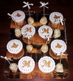 Mariana's 1st holy communion cake #cake #cakedesign #cakedecorating #sugarart #sugarartist #1stholycommunion #holycommunion #baking #cupcakes…
