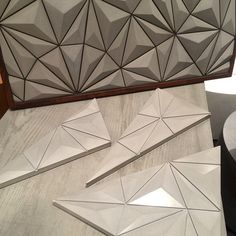 #castconcrete #tiles #ICFF #aperiodic #patterns designed in collaboration with @situstudio @ben_sandell @gesose