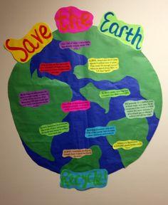 Recycling Educational Bulletin Board