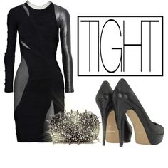 """TIGHT - Girls Night Out"" by latoyacl on Polyvore"