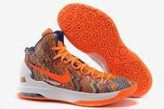 timeless design 55c0b fad10 Nike Zoom KD 5 iD Offers New Graphic Pattern Orange Basketball Shoe Online