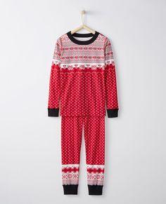 Long John Pajamas In Organic Cotton 1ef748a58