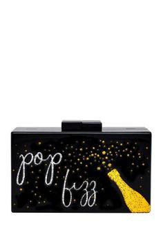 Image of La Regale Pop Fizz Box Clutch